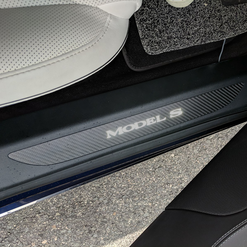 Model S Illumniated Door Sill